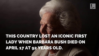 Bushes Welcomed New Member to Family Just 2 Days After Barbara's Death - Video