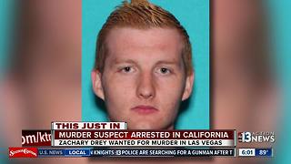 Man accused in Las Vegas roommate stabbing arrested in California - Video