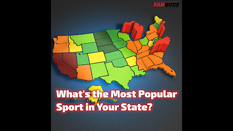 The Most Popular Sport in All 50 States