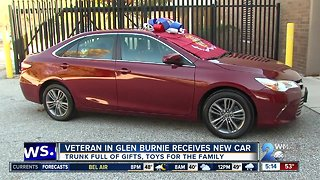 Progressive Insurance gifts veteran family with free car - Video