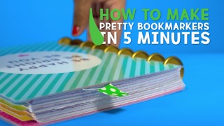Pretty bookmarkers - Video