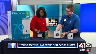 New gadgets make summer heat a little more bearable - Video