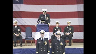 USS ASHEVILLE (SSN 758) CHANGE OF COMMAND CEREMONY