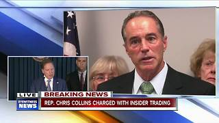 Rep. Chris Collins charged with insider trading - Video