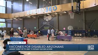 Vaccines for disabled Arizonans at Ability360