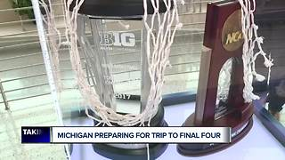 Michigan preparing for trip to Final Four - Video