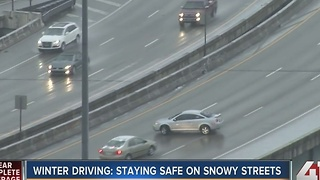 Winter driving: Staying safe on snowy streets - Video