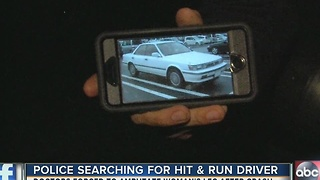 Woman loses leg in hit-and-run accident, police search for driver - Video