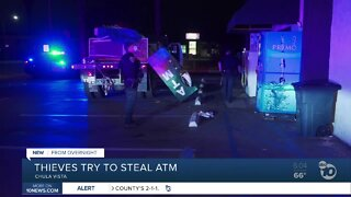 Thieves attempt to steal a Chula Vista ATM