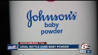 Legal battle over Johnson & Johnson baby power lawsuit - Video