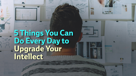 Five Things You Can Do Everyday to Upgrade Your Intellect