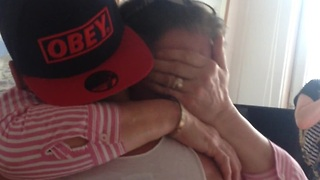Son Gives His Mom The Surprise Of A Lifetime After Being Away From Home - Video