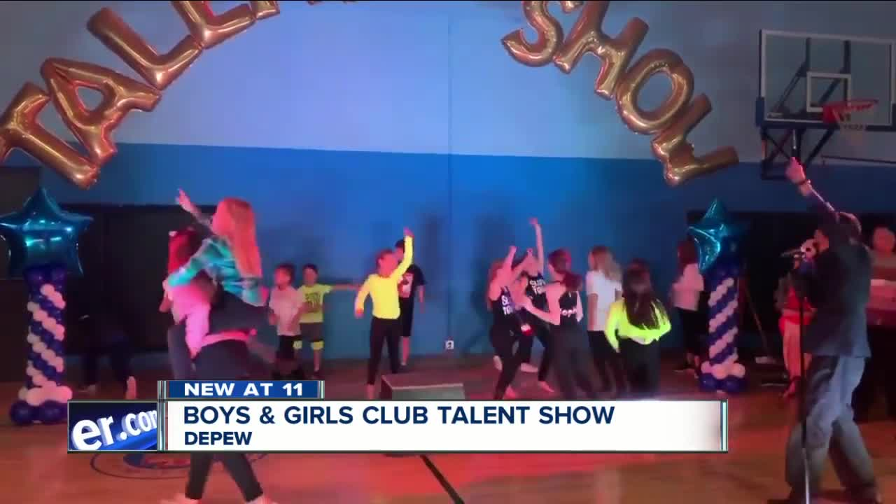 Talented kids show off their skills in Depew