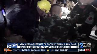 Thai Officials Release Video Of Soccer Players Recovering After Rescue - Video