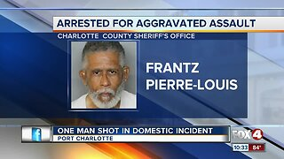 Arrest made in Charlotte County domestic shooting