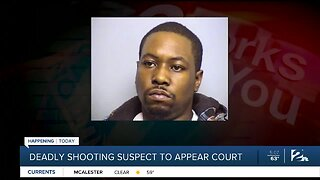 Deadly Shooting Suspect To Appear Court