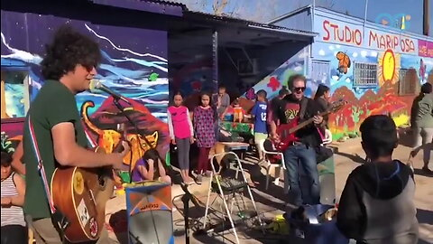 Using Music and Art to Build Friendships on the Border #ComeTogether