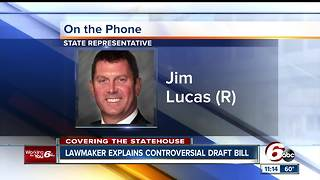 Indiana lawmaker talks licensing journalists - Video