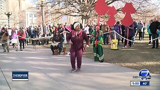 Thousands turn out for 4th annual women's march in Denver