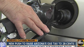 New push in Arizona to raise gas tax to .28 cents - Video