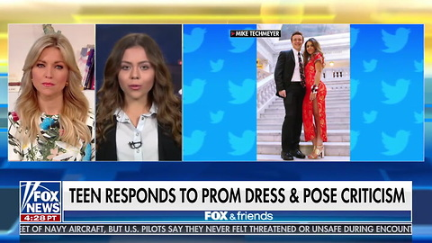 'I Would Definitely Wear It Again': Teen Shamed for 'Racist' Prom Dress Stands Her Ground, Has No Regrets