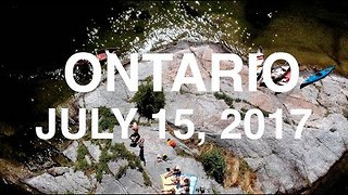Charleston Lake From Above: Aerial Footage Shows Ontario Camping Vacation - Video