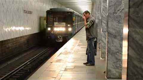 Hitching a train ride Russian style