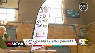 MARCC program helps those without government IDs - Video