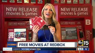 Get free Redbox movies every time you rent! - Video