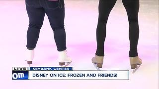 Skating lessons with Disney on Ice - Video