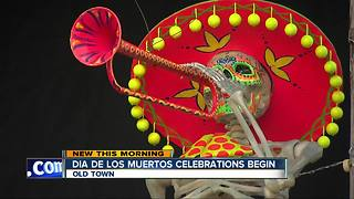 Dia de Los Muertos celebrations kick off in San Diego - Video