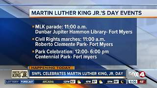 MLK Day events planned in Southwest Florida - Video