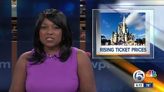 Ticket prices rising at Walt Disney World in Orlando - Video