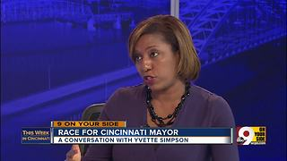 This Week in Cincinnati: Councilwoman and mayoral candidate Yvette Simpson talks policing, Children's Hospital and more - Video