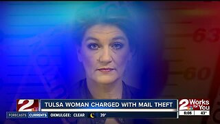 Tulsa woman charged with mail theft