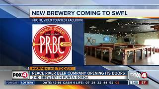 Peace River Beer Company opening this weekend - Video