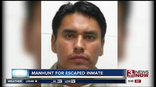 Manhunt continues for escaped inmate - Video