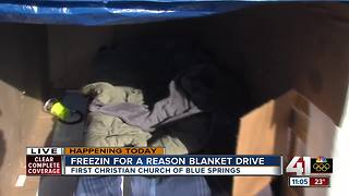 'Freezin' for a Reason' blanket drive this weekend - Video