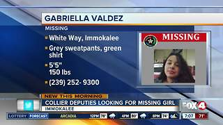 Collier County Girl Missing - Video