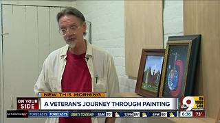 Once homeless, this veteran finds healing in art