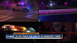 KC on track for one of its deadliest years - Video