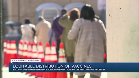 Equitable distribution of vaccines