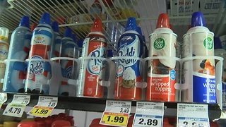 Thanksgiving mission:  Go buy whipped cream! - Video