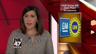 Labor union sues General Motors to stop plant closings in 3 states