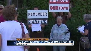 Gun control rally in wake of mass shooting - Video