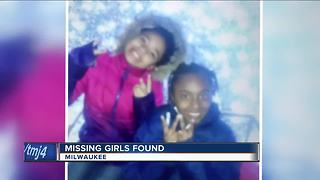2 critically missing Milwaukee girls found safe - Video