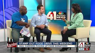 26th Stamp Out Hunger food drive this weekend - Video