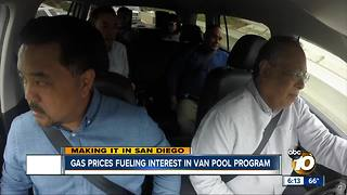 Gas prices fueling interest in Vanpool program - Video