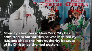 NY Bomber Was Targeting Christmas - Video