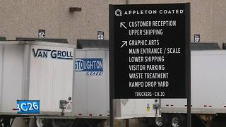 More than 600 employees temporarily laid off at Appleton Coated - Video